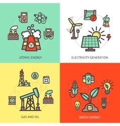 Energy design concept vector