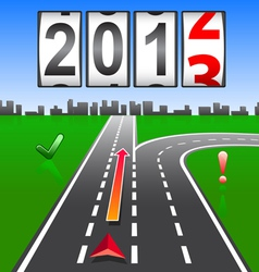 2013 new year counter vector