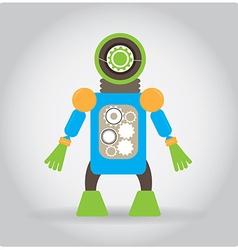 Robot toy vector