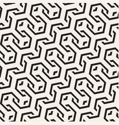 seamless interlacing lines pattern vector image