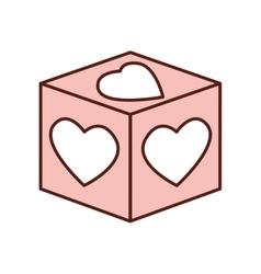 love romantic emotions design vector image