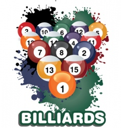 Billiards vector