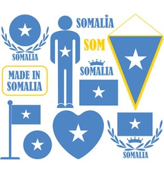 Somalia vector image
