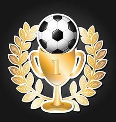 soccer sport vector image