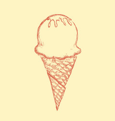 Ice cream vector