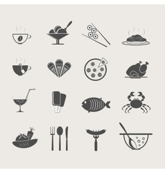 Food and drink set vector