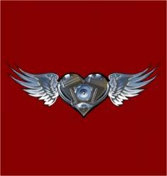 motorheart vector image vector image