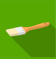 Paintbrush icon in flate style isolated on white vector