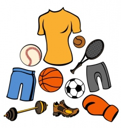 sport life style vector image vector image