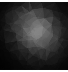 Abstract black geometric triangle background vector