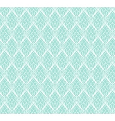 Abstract white lace seamless pattern on blue vector