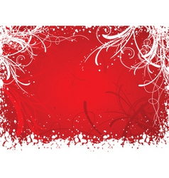 abstract winter vector image vector image