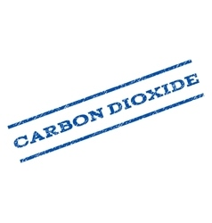 Carbon dioxide watermark stamp vector