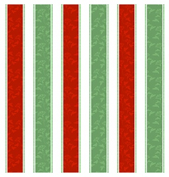 Christmas Line Pattern Background vector image vector image