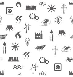 Energy seamless pattern vector