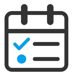 Day tasklist icon vector