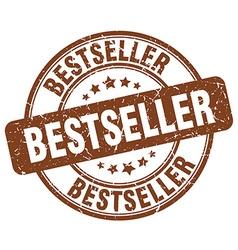 Bestseller brown grunge round vintage rubber stamp vector