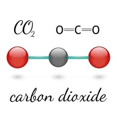 Co2 molecule vector