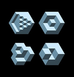 Cubic objects vector