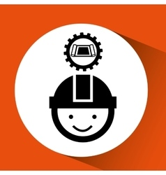 Industry construction icon vector