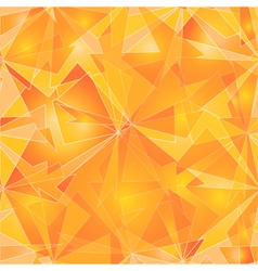 Abstract Polygonal Background Fire vector image vector image