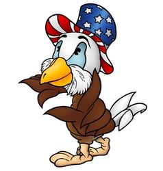 Eagle patriot vector