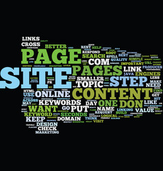 Effective website design for massive traffic text vector