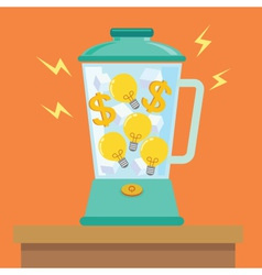 Idea money mix vector
