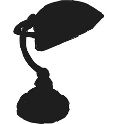 construction lamp vector image vector image