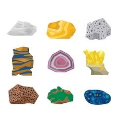 Gemstones stones vector