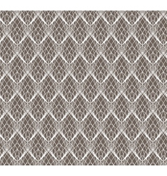 Abstract White Lace seamless pattern on dark vector image vector image
