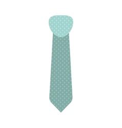 Blue tie icon vector