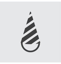 Cone cap icon vector image vector image