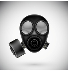 Isolated gas mask vector image vector image