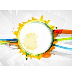 modern circle vector image vector image