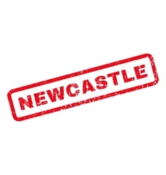 Newcastle rubber stamp vector