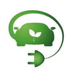 bio car vector image