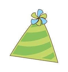 Hat cap party icon vector
