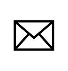 Mail letter symbol vector