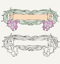 1206MulticoloredAncientScroll vector image
