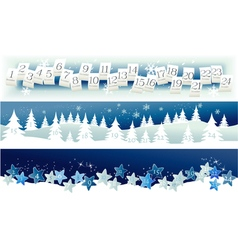 Advent Calendar vector image