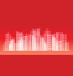 City landscape eps10 vector