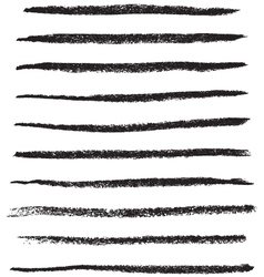Grungy brush strokes vector