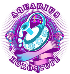 libra zodiac sign vector image