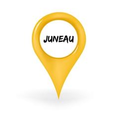 Location juneau vector