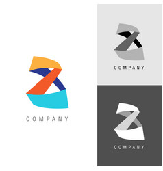 logo design element eight or infinity symbol vector image vector image