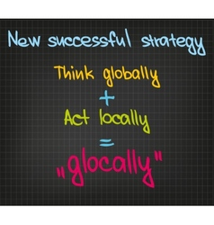 New successful strategy vector