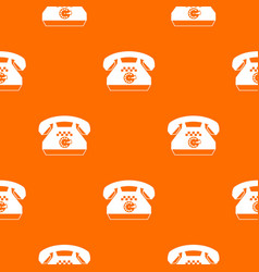 Taxi phone pattern seamless vector