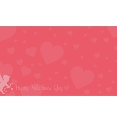 Romance theme for valentine backgrounds vector