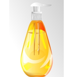 Hand wash gel vector